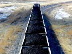 Long-flame coals, section Coal Shubarkol