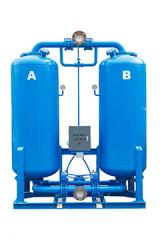 The adsorptive dehumidifier of cold regeneration