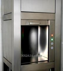 Elevator small cargo (kitchen). For restaurants
