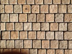 Stone blocks from a natural stone of