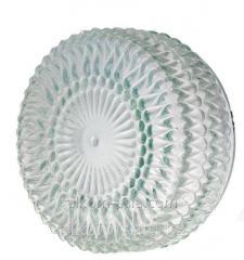 Светильник НПО 285 таблетка прозр риф 60/240