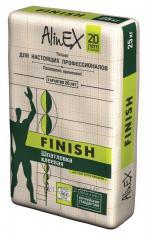 Filling glue AlinEX Finish of 25 kg.