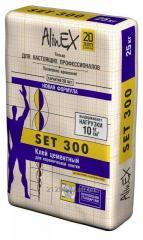 Glue tiled AlinEX SET 300 25 of kg.