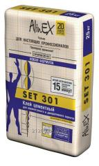 Glue tiled AlinEX SET 301 25 of kg.