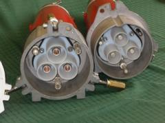 Plug couplings, cable connections, special