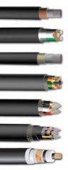 High-voltage mine, career, fiber-optical cables