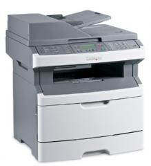 The Lexmark X363dn MFP the Network