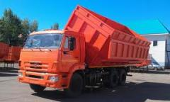 Dump truck grain-carrier, Dump trucks
