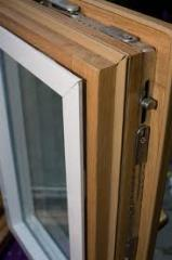 Окна и рамы оконные деревянные