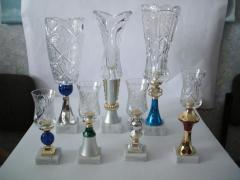 Figurines are prize, Glass cups in Almaty