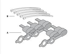 E-100-BOOT-5/PACK Spare parts to E-100-E