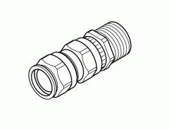 Кабельный сальник GL-33 с трубной резьбой 3/4 для ввода силового кабеля в термостаты типа RAYSTAT-EX-02