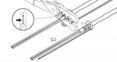 Опрессовочные клещи C20-02-CT для набора C-20-02-F