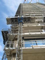Front platform cradle mast Maber MBP 01/150