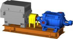 Насосы ЦНС(Г) 850-240... 960, Насосные агрегаты