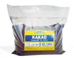 Какао 10-12% темное, 500 г, код: 4870004101890