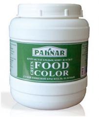 Dye of green, 500 g, code: 4870004101272