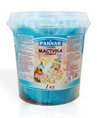 Мастика голубая, 1 кг, код: 4870004108172