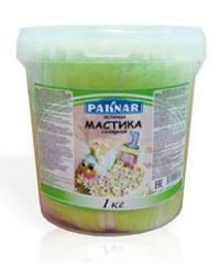 Мастика зеленая, 1 кг, код: 4870004108134