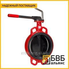 Затвор дисковый поворотный Tecofi Ду 200 Ру 25, редуктор