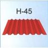 Профилированный оцинкованный лист Н-45