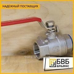 Кран нержавеющий шаровой BV15-020 Ду 20 (3/4