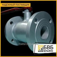 Кран стальной шаровой LD Ду 65 Ру 25 для газа фланец с рукояткой