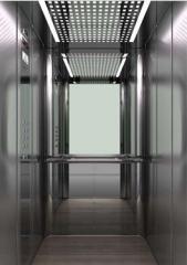 Безредукторный пассажирский лифт
