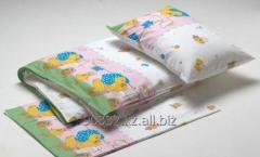 Детский комплект постельного белья напечатанное х/б.