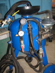 Аппарат пескоструйный АСО - 150