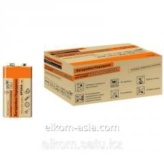 Батарейка 6F22 Крона Zinc Carbon 9V SH-1 Народный TDM