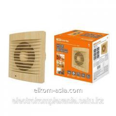 Вентилятор бытовой настенный, 100 С ЭКО (сосна) TDM