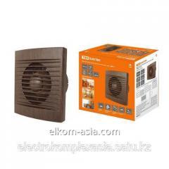 Вентилятор бытовой настенный, 100 С ЭКО (бук) TDM