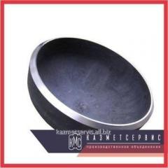 Cap of 88.9x3 mm of AISI 304