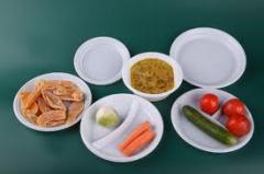 Одноразовая посуда, тарелки, вилки, ложки,