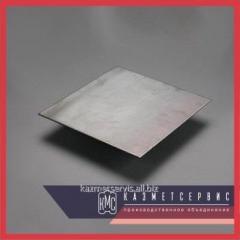 Leaf of corrosion-proof 0,5 mm 08X18H10