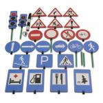 Children's game set Alphabet of traffic