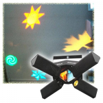 The sound activated projector of light effects the