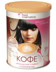 Coffee the Irish cream with collagen