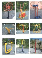 Street exercise machines, Exercise machines for