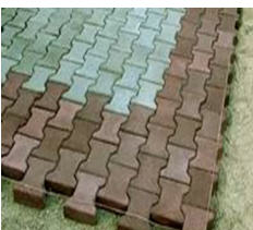 Stone blocks, Stone blocks sidewalk