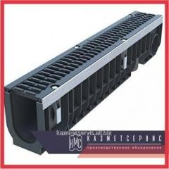 Tray drainage (high-strength cast iron with
