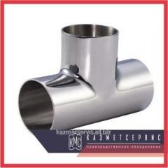 Tee corrosion-proof 101,6x101,6x3 AISI 304 mirror