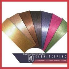 Decorative corrosion-proof leaf color