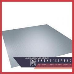 Дюралюминиевый лист 100 мм Д16