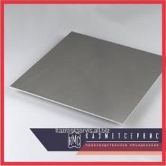 The leaf alloyed 1,5x800x1800 mm constructional 30HGSA TU 19904-74