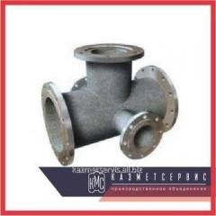 Cross a flange a bell with a fire support of PPKRF