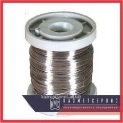 Wire of nikhromovy 0,1 mm of X20H80-H of 1800