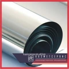 Танталовая лента 0,1х120х1000 мм ТВЧ