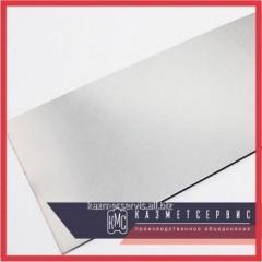 La hoja tantalovyy 1,0х120х480-860 mm TVCH